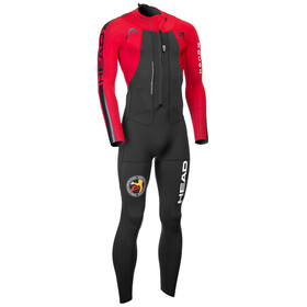 Head ÖTILLÖ Swimrun Rough - Homme - rouge/noir